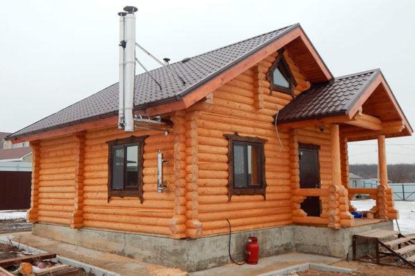 Баня под ключ, проекты и цены в Казани из кирпича и дерева