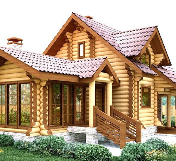 Проектирование домов из оцилиндрованного бревна