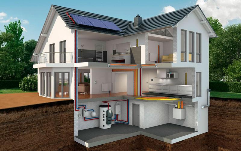 дом под ключ с коммуникациями и отделкой