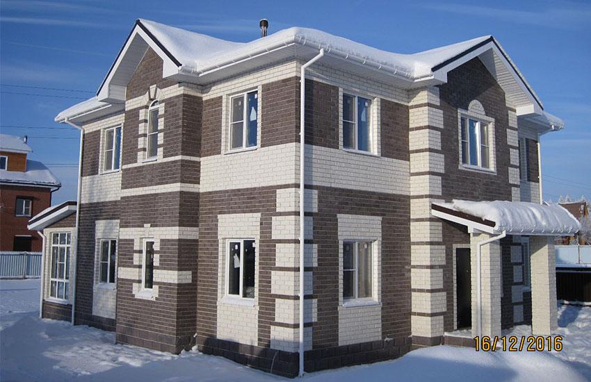 дом из кирпича под ключ цена
