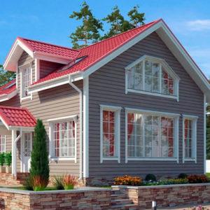каркасные дома под ключ недорого для постоянного проживания цены