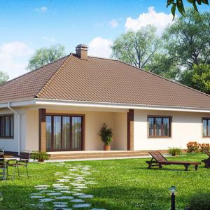Одноэтажные дома под ключ, проекты и цены