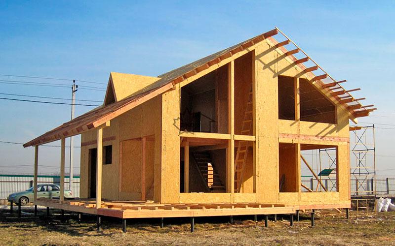 Строительство дома из сип панелей под ключ в Казани