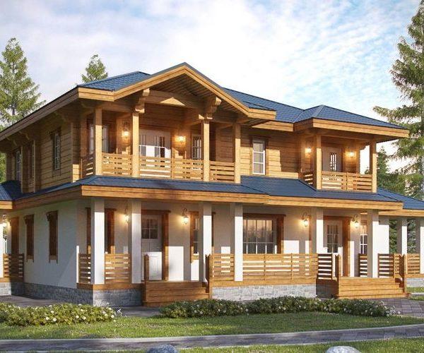 Проектирование домов из профилированного бруса