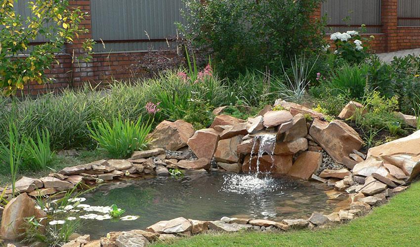декоративный водоем в ландшафтном дизайне