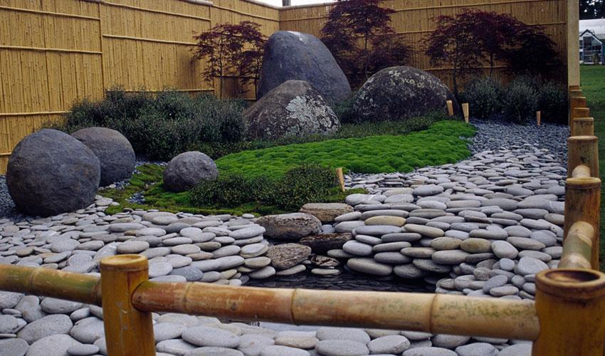 Укладка натурального камня в ландшафтном дизайне