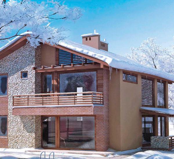 Зимний дом под ключ