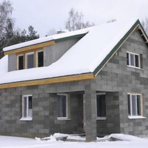 Монолитный дом из керамзитобетона