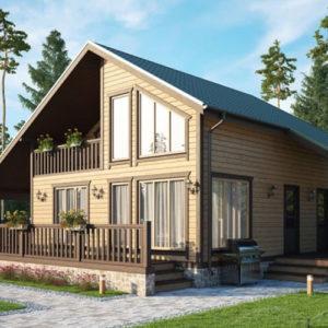 Канадский дом проекты и цены